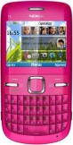Nokia C3 Pink mobile phone