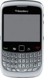 Blackberry 8520 Silver mobile phone