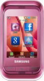 Samsung C3300 Pink mobile phone