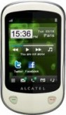 Alcatel 710 White mobile phone