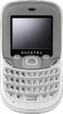 Alcatel 355 White mobile phone
