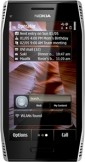 Nokia X7 Silver mobile phone