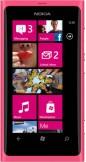 Nokia Lumia 800 Magenta Pink mobile phone