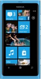 Nokia Lumia 800 Cyan Blue mobile phone