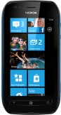 Nokia Lumia 710 Black Cyan Blue mobile phone
