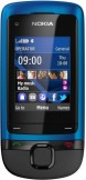 Nokia C2-05 Blue mobile phone