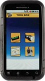 Motorola Defy Plus JCB Edition mobile phone