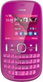 Nokia 201 Pink mobile phone