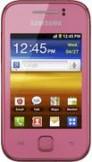 Samsung Galaxy Y Pink mobile phone