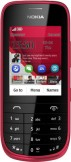 SIM FREE Nokia Asha 203 Dark Red