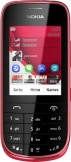 Nokia Asha 202 Dark Red