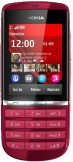 SIM FREE Nokia Asha 300 Red