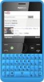 SIM FREE Nokia Asha 210 Cyan Blue