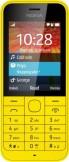 SIM FREE Nokia 220 Yellow
