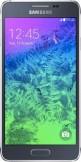 Samsung Galaxy Alpha Charcoal Black mobile phone