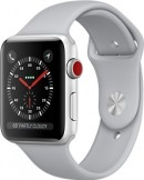 Apple Watch Series 3 38mm Silver Aluminium Case with Fog Sport Band mobile phone