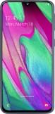 Samsung Galaxy A40 Black mobile phone