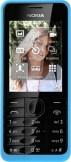 Nokia 301 Dual SIM Cyan Blue