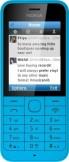 Nokia 220 Cyan Blue