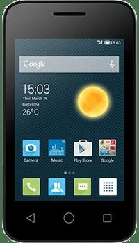 Alcatel Pixi 3 3.5 on EE