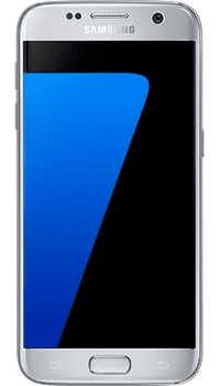 Samsung Galaxy S7 Silver on 250 + Unlimited + 1GB at £14.99