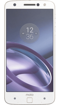 Motorola Moto Z White Gold