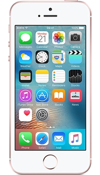 Apple iPhone SE 128GB Rose Gold on giffgaff