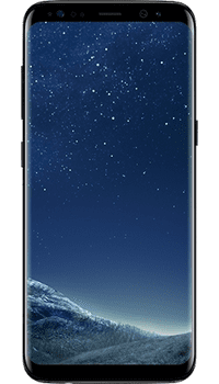 Samsung Galaxy S8 Black on O2 Upgrade