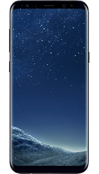 Samsung Galaxy S8 Plus Black on EE