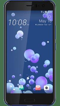 HTC U11 Blue on EE