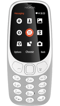 Nokia 3310 2017 Grey on 250 + Unlimited + 1GB at £7.99