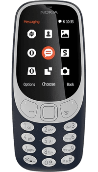 Nokia 3310 2017 Blue on Unlimited + 1GB at £15