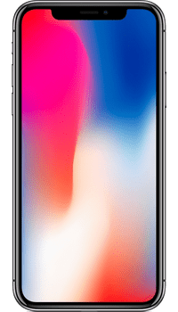 Apple iPhone X 64GB on Unlimited + 60GB at £49