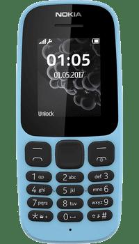 Nokia 105 2017 Blue deals