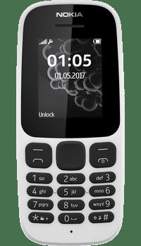 Nokia 105 2017 White deals