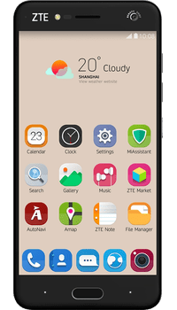 ZTE Blade V8 Grey on EE