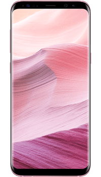 Samsung Galaxy S8 Rose Pink on O2