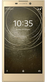 Sony XPERIA L2 Gold on EE
