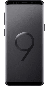 Samsung Galaxy S9 Midnight Black on O2