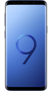 Samsung Galaxy S9 Coral Blue on EE