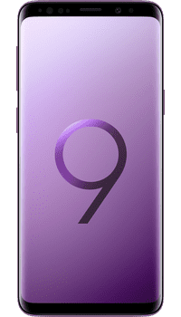 Samsung Galaxy S9 Lilac Purple on EE