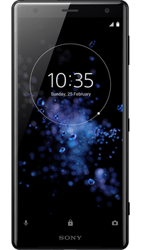 Sony XPERIA XZ2 Black on Vodafone