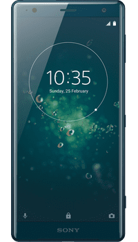 Sony XPERIA XZ2 Blue on Vodafone