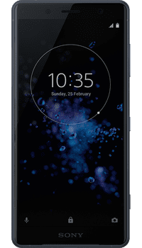 Sony XPERIA XZ2 Compact Black on EE