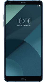 LG G6 Blue on O2