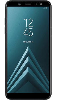 Samsung Galaxy A6 Black on O2