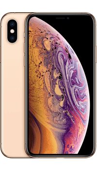 Apple iPhone XS 256GB Gold on giffgaff