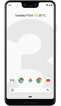 Google Pixel 3 64GB Clearly White on O2 Upgrade