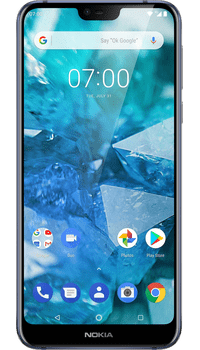Nokia 7.1 Blue on EE