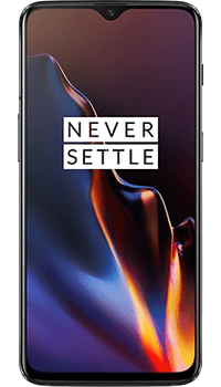 OnePlus 6T 6GB RAM 128GB Mirror Black on O2
